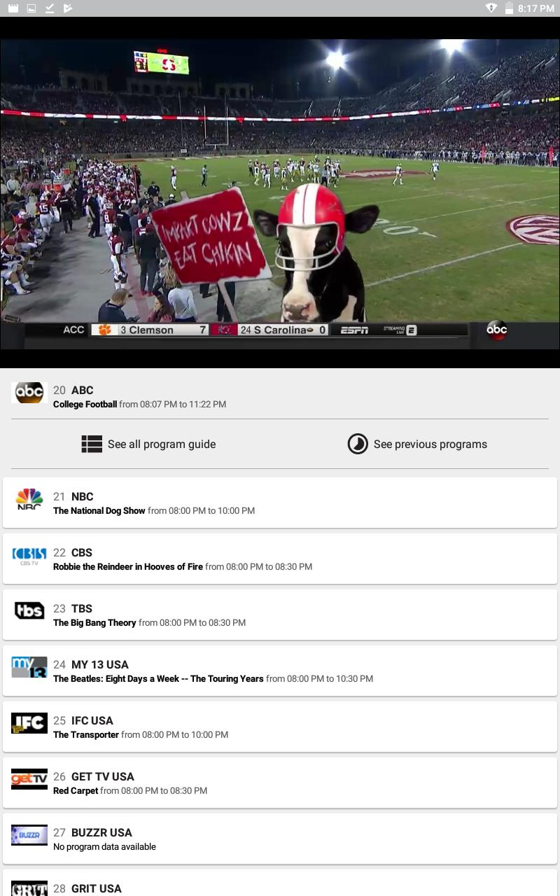 VU Stream TV for Android - APK Download