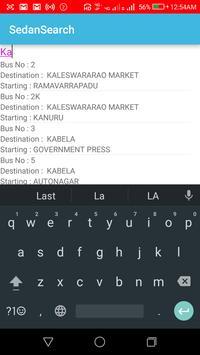 Sedan Search apk screenshot