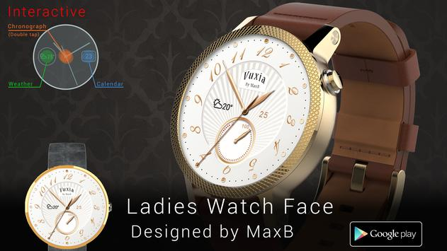 Ladies Watch Face poster
