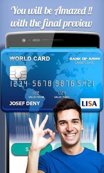 Fake Credit Card Maker Prank screenshot 4