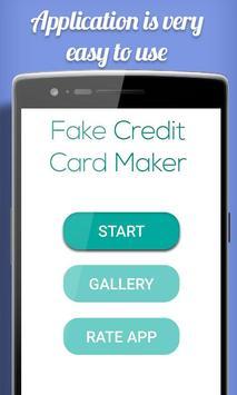 Fake Credit Card Maker Prank poster