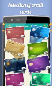 Fake Credit Card Maker Prank screenshot 1