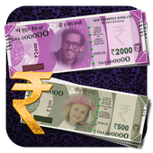 Download App antagonis android Make Own:Indian Currency Prank APK
