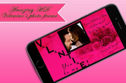 Valentine Photo Frame poster
