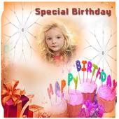 Birthday Photo Frame icon