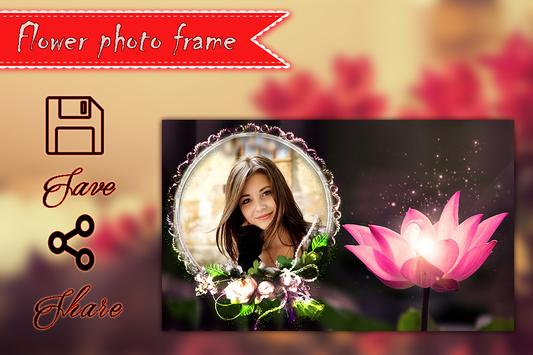 Flower Photo Frame apk screenshot