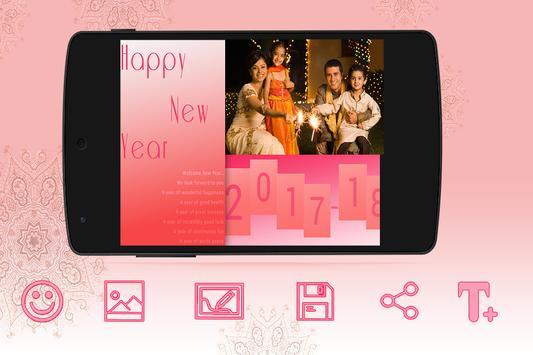 Happy New Year Photo Frame screenshot 2