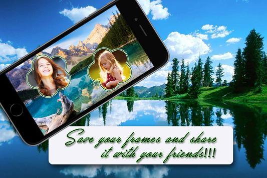 Natural Dual Photo Frame poster
