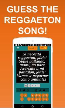 Guess the reggaeton song screenshot 1