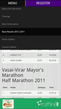Vasai-Virar Mayor Marathon screenshot 1