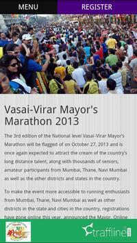 Vasai-Virar Mayor Marathon screenshot 4