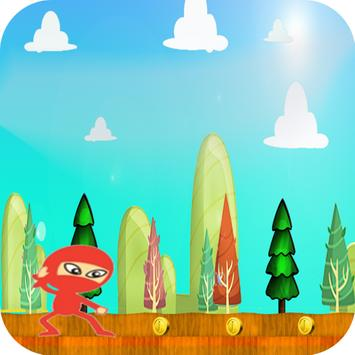 Run Ninja Red Jump Adventures screenshot 1