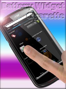 Cigarette Battery Widget screenshot 1