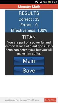 Monster Math apk screenshot