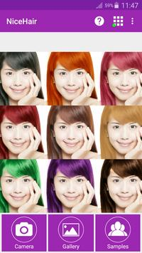 NiceHair - Hair Color Changer poster