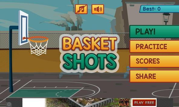 3D Basket Shots Pro poster
