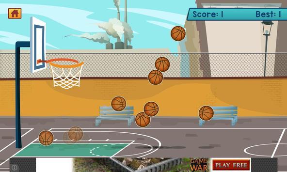 3D Basket Shots Pro apk screenshot