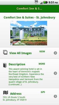 Comfort Inn - Northern VT apk screenshot