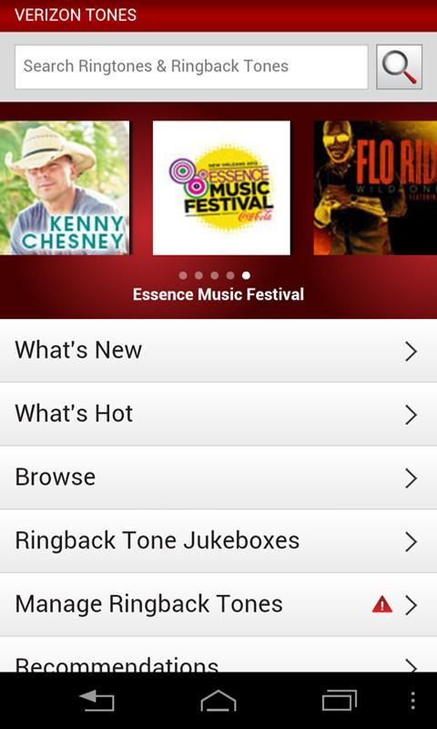 Free ringtones for verizon cell phone.