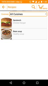 Healthy Food Hub apk screenshot