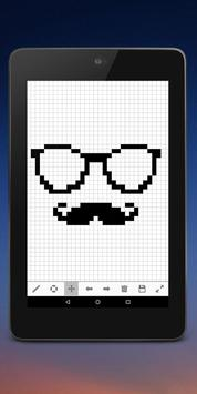 8 bit paint - Pixel Art Editor apk screenshot