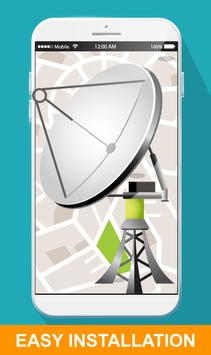 Satellite Finder with GPS Director poster