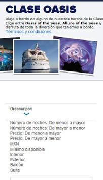 Vacaciones en crucero screenshot 3