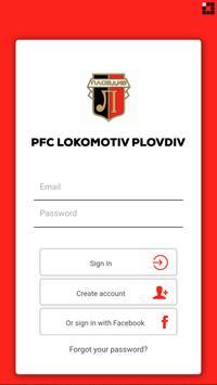 PFC Lokomotiv Plovdiv poster