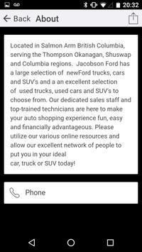 Jacobson Ford apk screenshot