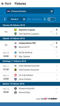 General Díaz Football Club, screenshot 2