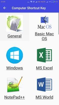 Computer Shortcuts Keys screenshot 2