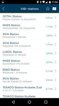 VAB station locator screenshot 3