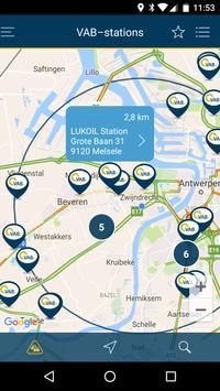 VAB station locator screenshot 1