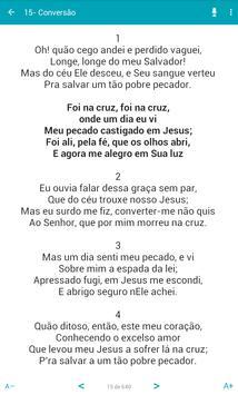 Harpa Cristã - App Oficial Assembléia de Deus apk screenshot