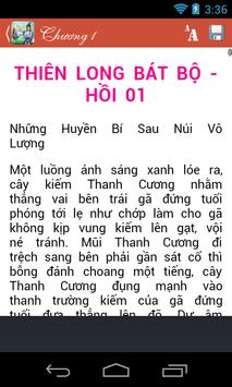 Thiên Long Bát Bộ apk screenshot