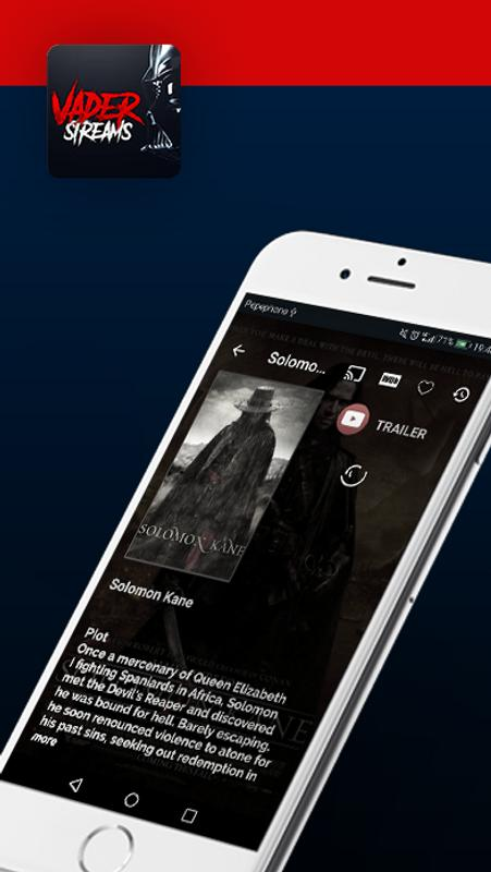 vader stream apk for android