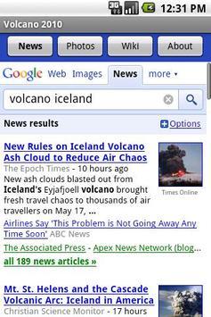 Volcano 2010 screenshot 1