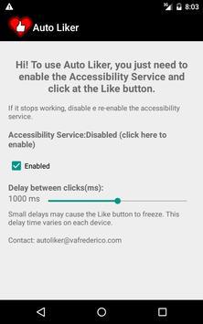 Auto Liker screenshot 1