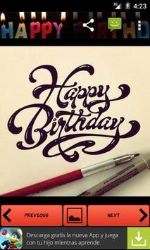Happy Birthday apk screenshot