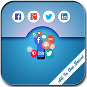All In One Social App icon