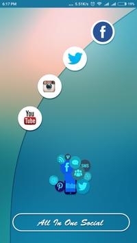 All In One Social App poster