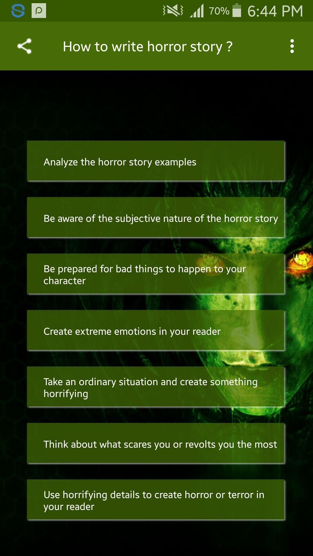 How to write horror story? for Android - APK Download