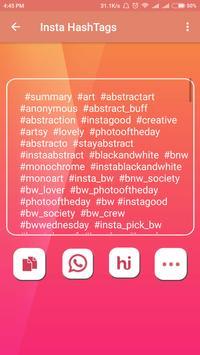 Insta For Hashtag apk screenshot