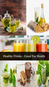 Healthy Drinks:Good for Health poster