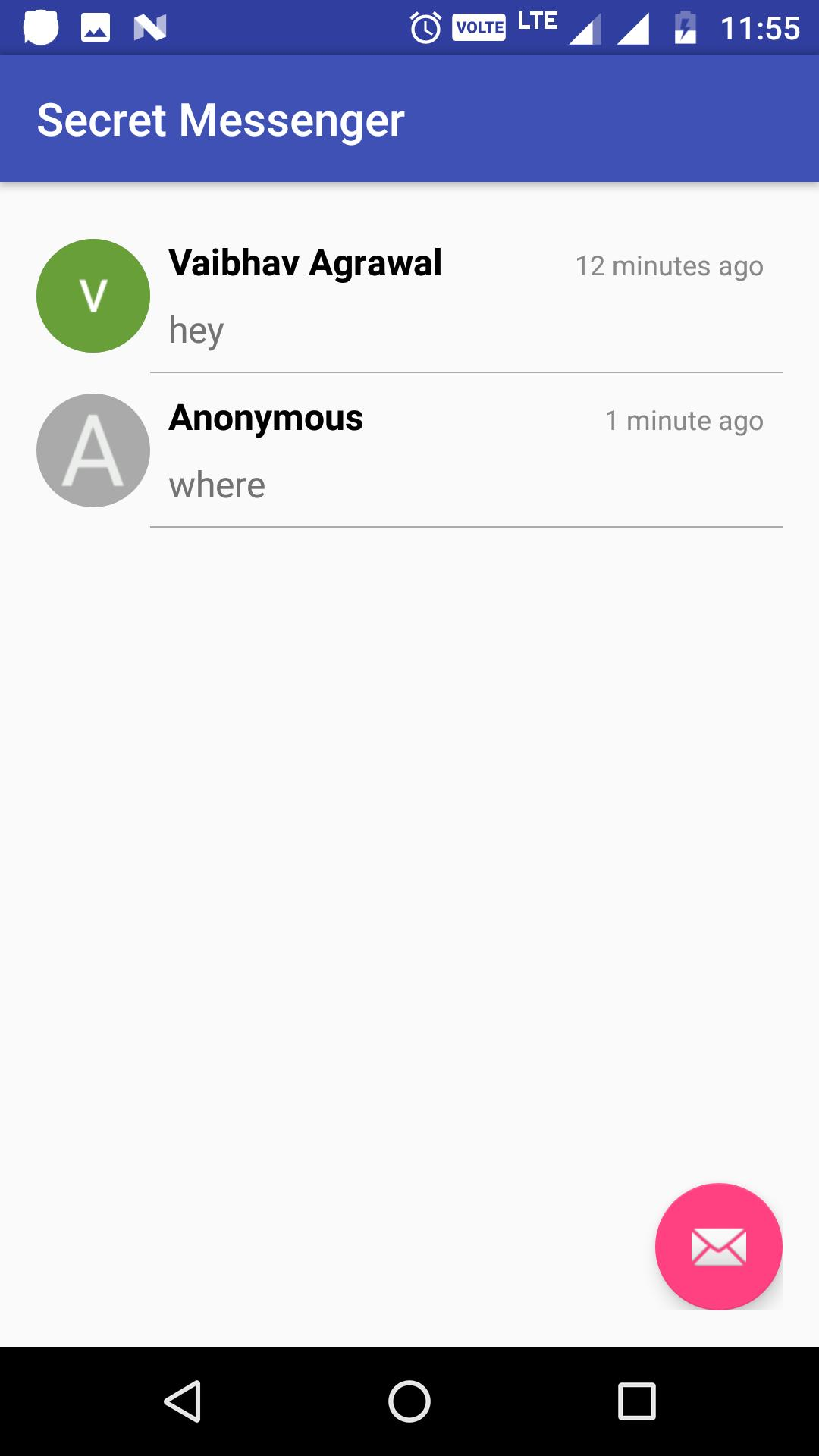 Android app secret messenger How to