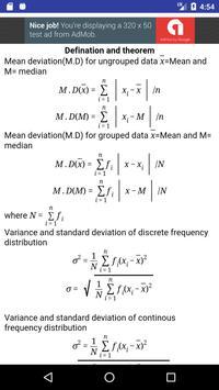 Math Formulas poster