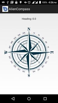 Alien Compass poster
