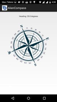 Alien Compass screenshot 1