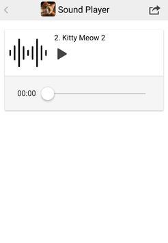 Cat Meow Sounds apk screenshot