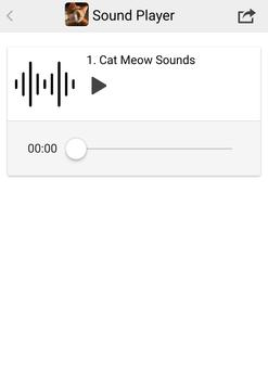 Cat Meow Sounds screenshot 2